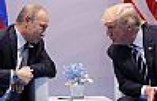 Donald Trump: Putin'e güçlü baskı yaptım