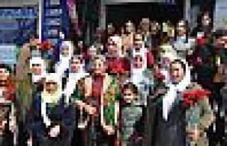 HDP Hakkari Milletvekili Leyla Güven ve Sait Dede...