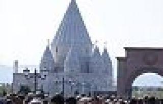 Dünyanın en büyük Ezidi tapınağı Ermenistan'da...