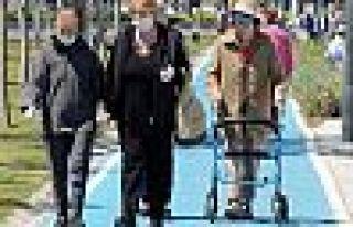 Engelli ve yaşlılara bayram izni