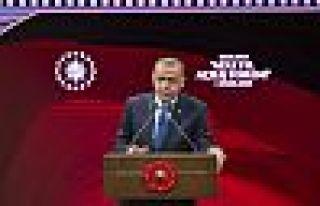 Erdoğan adli yıl açılışında 'avukatlıktan...