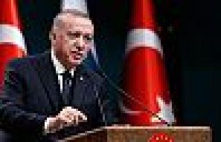 Erdoğan: Sabır ve dua ile bu dönemi aşacağız