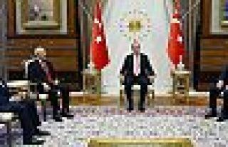 Erdoğan'dan AK Parti, CHP ve MHP liderine Yenikapı...