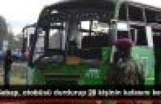 Eş Şebap Militanları, Otobüsü Durdurup 28 Kişiyi...