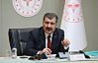 Fahrettin Koca: Yeni vaka sayısı 44 gün sonra 900...