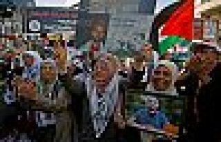 Filistin'de açlık grevi sona erdi