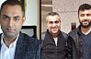 Gazeteciler Murat Ağırel, Ferhat Çelik ve Aydın...