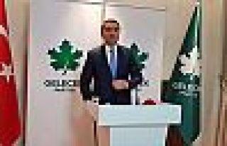 Gelecek Partisi Sözcüsü Temurci: 'Demirtaş çıksın,...