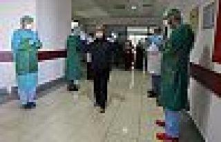 Hakkari'de Kovid-19 tedavisi tamamlanan 2 kişi daha...