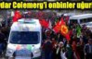 Hakkari'de YPG'li Çivi'ye görkemli uğurlama