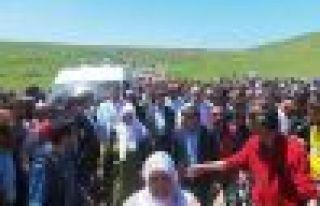 Hamdullah Öğe'yi binler uğurladı
