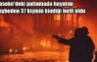 Haseke'de hayatını kaybeden 37 kişinin kimliği...