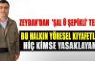 HDP aday adayı Zeydan'dan 'Şal û şepikli' tepki