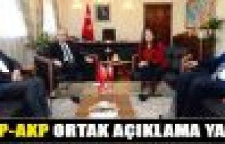 HDP-AKP Hükümeti ortak açıklama yaptı