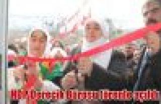 HDP Derecik Bürosu törenle açıldı