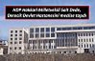 HDP Hakkari Milletvekili Sait Dede, Derecik Devlet...