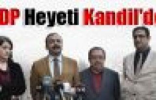 HDP Heyeti Kandil'de