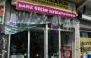 HDP Sarız seçim bürosuna saldırı
