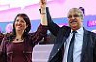HDP'de yeni eş başkanlar Pervin Buldan ve Mithat...