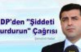"""HDP'den """"Şiddeti Durdurun"""" Çağrısı"""