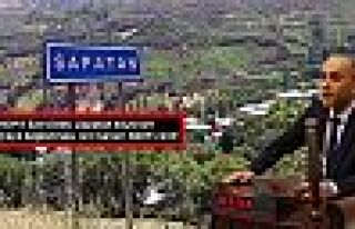 HDP'li Sait Dede, Şapatan köyü için kanun teklifi...