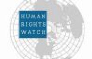 HRW, DAİŞ'in Kobani saldırısına ilişkin rapor...