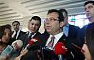 İmamoğlu: Kanal İstanbul hattındaki mülk hareketini...