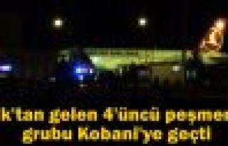 Irak'tan gelen 4'üncü peşmerge grubu Kobani'ye...