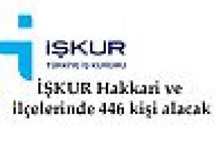 İŞKUR Şemdinli'de 50 kişiyi işe alacak