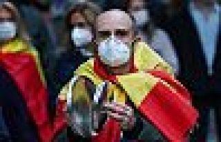 İspanya'da ölü sayısı 100'ün altına düştü