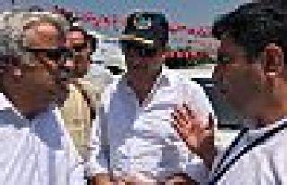 Kandıra'da HDP'lilere engelleme