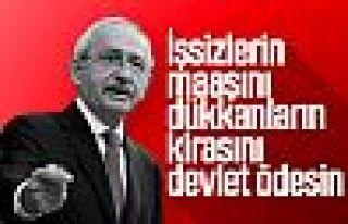 Kemal Kılıçdaroğlu'ndan hükümete mali yükü...