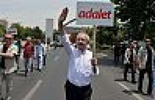 Kılıçdaroğlu: Bu koşullarda yeni bir Adalet Yürüyüşü...