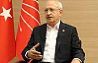 Kılıçdaroğlu: Cumhurbaşkanı adayı siyasi parti...