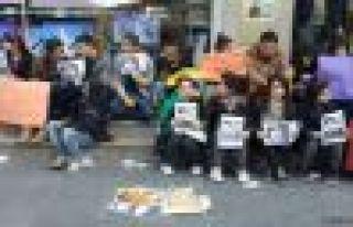 Li Dêrsimê xwendekaran girtin û binçavkirin protesto...