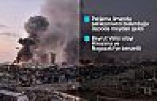 Lübnan'ın başkenti Beyrut limanında patlama: 100...
