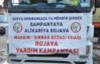 Mardin Şırnak Eczacılar Odası'ndan Rojava'ya ilaç...