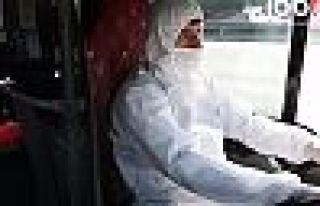 Metrobüs şoförleri koruyucu tulum giyecek
