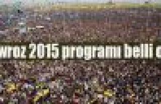 Newroz 2015 programı belli oldu