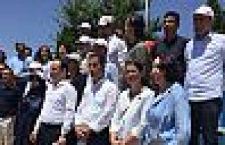 Parkta HDP grup toplantısı