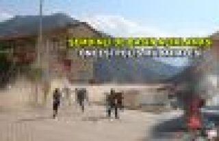 Şemdinli'de basın açıklaması öncesi polis müdahalesi