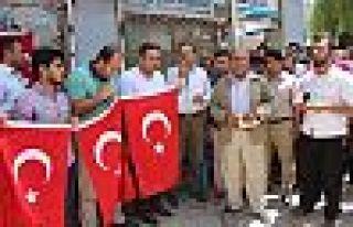 Şemdinli'de Darbe Girişimi Protesto Edildi