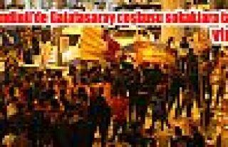 Şemdinli'de Galatasaray coşkusu sokaklara taştı