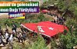 Şemdinli'de geleneksel Goman Dağı Yürüyüşü...