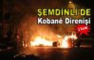 Şemdinli'de Kobani Direnişi: 2 Yaralı