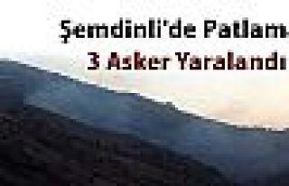 Şemdinli'de patlama: 3 asker yaralı
