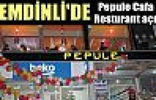 Şemdinli'de Pepule Cafa & Resturant açıldı