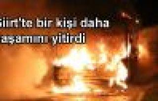 Siirt'te bir kişi daha yaşamını yitirdi