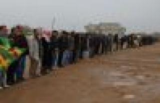 Silava roja 166'an a ji bo YPG/YPJ'ê