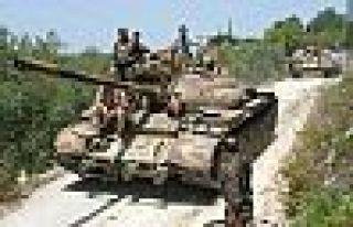 Suriye ordusu Ürdün sınırında 70 km'lik alanı...